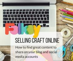 How to find content to share online #biztips #folksy