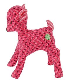 Take a look at this Pink Mini Deer Grabbing Toy on zulily today!