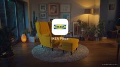 Ikea'S augmented reality app lets people virtually place furniture in their home (via ikea) Video Games For Kids, Kids Videos, Virtual Reality, Small Mason Jars, Wing Chair, Large Furniture, Applications, Storage Solutions, Houses