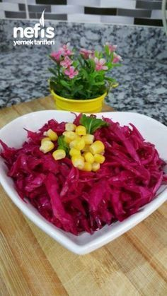 Red Cabbage - Delicious Meets Healthy: Quick and Healthy Wholesome Recipes Sauce Recipes, Cooking Recipes, Healthy Recipes, Yami Yami, Turkish Kitchen, Red Cabbage, Pickles, Food And Drink, Turkey