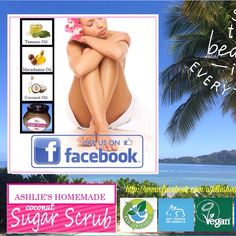 Shop now for products at Ashlie's Homemade Sugar Scrub. Tamanu Oil, Sugar Scrub Homemade, Macadamia Oil, Scrubs, Coconut Oil, Body Scrubs, Coconut Oil Uses