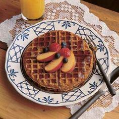 We Want Waffles on Pinterest | Waffles, Gingerbread and Waffle Recipes