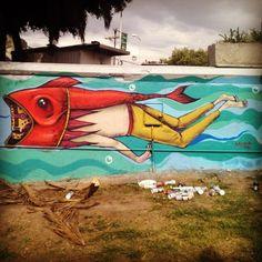 Saner, nuevo mural DF