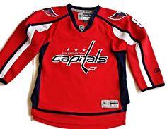 Washington Capital Hockey NHL Jersey OVECHKIN  Youth L/XL #RBK #WashingtonCapitals