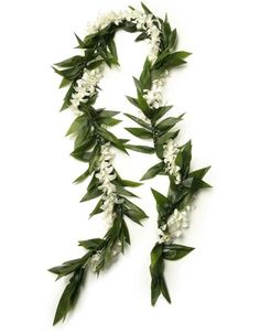 Wedding leis are a Hawaiian wedding tradition. The maile is the most traditional wedding lei, as it was used by the Kahuna (Hawaiian priest) in old Hawaii to bind the hands of the bride and groom, symbolizing their commitment to each other.