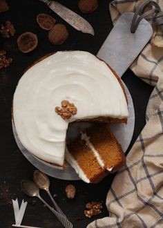 Tarta de zanahoria (Sin gluten), The art of cupcakes - Gluten Free Deserts, Gluten Free Recipes, Muffins, Good Food, Yummy Food, Fodmap Recipes, Healthy Sweets, Bakery, Food And Drink