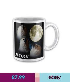 Mugs Gabe The Dog 'Bork' Funny Novelty Gift Mug #ebay #Collectibles Novelty Gifts, Gifts In A Mug, Mugs, Tableware, Funny, Ebay, Dinnerware, Tablewares, Mug