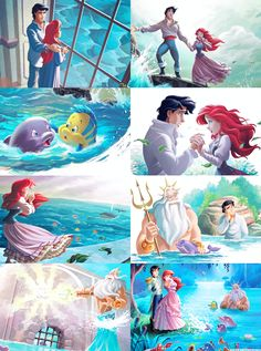 """mickeyandcompany: """" Ariel's Dolphin Adventure """""""