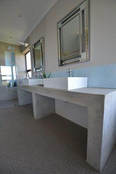 SatinCrete used in a bathroom