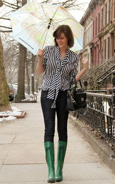 What I Wore: Spring Showers by What I Wore, via Flickr