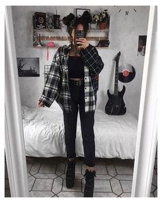Alternative Outfits, Alternative Mode, Alternative Fashion, Mode Grunge, Style Grunge, Grunge Look, Grunge Girl, Grunge Style Winter, 90s Grunge