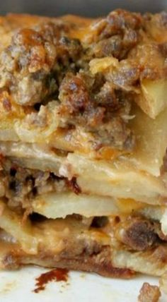 Meat & Potato Casserole