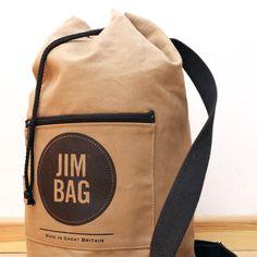 Camel & Brown Duffle Bag | Jimbag