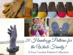 20 Free Handcozy Crochet Patterns for the Whole Family!