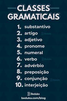 Portuguese Grammar, Portuguese Lessons, Portuguese Language, English Lessons, Book Study, Study Notes, Learn Brazilian Portuguese, Study Organization, Bullet Journal School