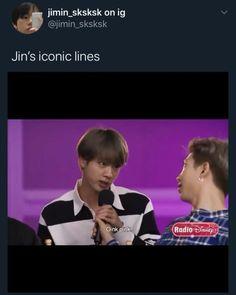 Bts Memes Hilarious, Bts Funny Videos, Humor Videos, Foto Bts, Bts Photo, Bts Jin, Bts Taehyung, Die Beatles, Bts Facts