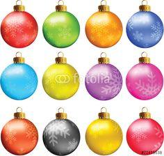 """Scarica il vettoriale Royalty Free  """"Christmas Balls"""" creato da eZeePics Studio al miglior prezzo su Fotolia . Sfoglia la nostra banca di immagini online per trovare il vettoriale perfetto per i tuoi progetti di marketing a prezzi imbattibili!"""