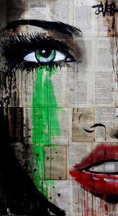 View LOUI JOVER's Artwork on Saatchi Art. Find art for sale at great prices from artists including Paintings, Photography, Sculpture, and Prints by Top Emerging Artists like LOUI JOVER. Collage Kunst, Art Du Collage, Arte Pop, Portraits Pop Art, Journal D'art, L'art Du Portrait, Newspaper Art, Inspiration Art, Oeuvre D'art