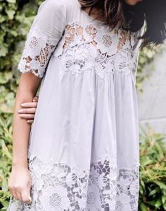 Magnolia Lace Dress | Anthropologie
