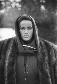 Grace Jones ! I mean can you really handle the beauty???
