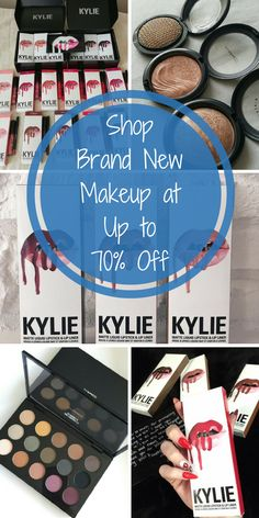 Install the free Poshmark app and shop brand new makeup from top brands like MAC, Kylie Cosmetics, Kat Von D, and hundreds more at up to 70% off retail prices!