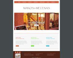 Maqueta de Sitio Web para Manos y Melena