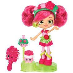 Shopkins Shoppies Series 4 Party Themed Rosie Bloom (Picnic Party) Doll - Pink