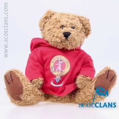 Clan Fraser Hoody Bear. Free Worldwide Shipping Available