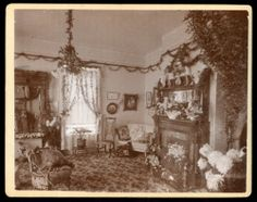 1 Reg 6 Large Photos of Elegant E w Wells Home Interior Prescott Arizona 1894 | eBay