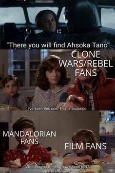 Star Wars Rebels, Star Wars Clone Wars, Star Wars Art, Stupid Funny Memes, Hilarious, Star Wars Jokes, War Comics, She Wolf, Film