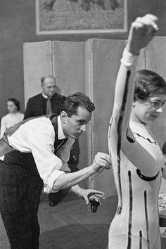 BERNARD BUFFET, 1958 - La galerie photo ParisMatch.com