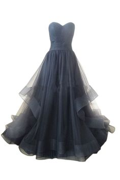 A-line Sky Blue Organza Long Prom Dress /Wedding Dress AM300