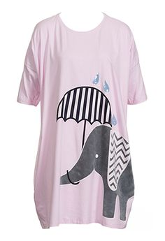 Elephant Umbrella Sleep Tee from Peter Alexander