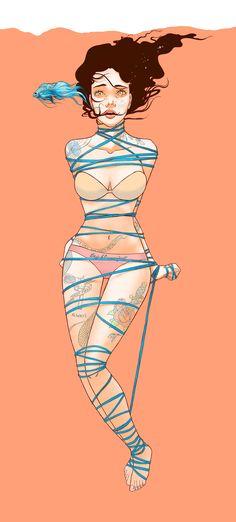 by Bicicleta Sem Freio #Illustration