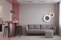 Home Room Design, Home Interior Design, House Design, Scandinavian Home Interiors, Washbasin Design, Small Apartment Interior, Home Living Room, Home Fashion, Room Decor