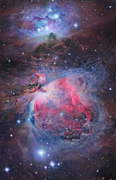 Kaleidoscope of Dust and Gas in Orion