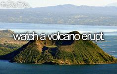 See volcano erupt #bucketlist #travel