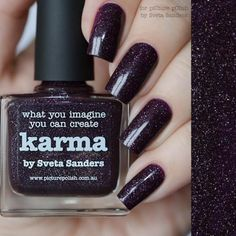 piCture pOlish : Picture Polish Karma Shop here- www.color4nails.com Worldwide shipping available