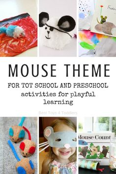 Best Toys 4 Toddlers - Mouse Theme for tot school and preschool with printable planner Preschool At Home, Preschool Learning Activities, Infant Activities, Toddler Preschool, Preschool Activities, Toddler Play, Toddler Crafts, Writing Prompts For Kids, Kids Writing