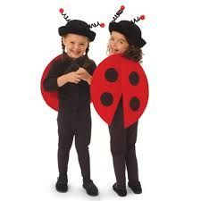 Ladybug costume for kids, carnival and Halloween - Disfraz de mariquita para niños, disfraces animales carnaval Animal Costumes For Kids, Animal Halloween Costumes, Cute Costumes, Costume Ideas, Costume Coccinelle, Fröhliches Halloween, Halloween Dress, Costume Carnaval, Ladybug Costume