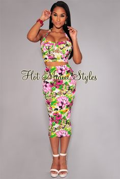1a372bf8ca2a4a Mint Multi-Color Floral Textured Midi Dress | loved fashion ...
