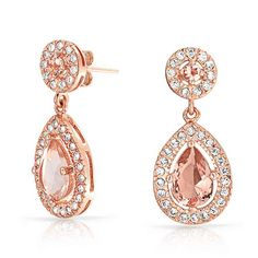 Checkout Twinkling Pink Drops at BlingJewelry.com