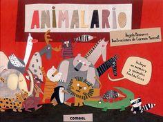 #Infantil / Diseño e Ilustración ANIMALARIO - Angels Navarro, Ilustrador: Carmen Queralt #Combel