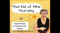 That Kid of Mine Thursday - Hypnosis for Anxiety in Children The beginning of understanding the anxiety in your kids is to be a detective at home before you seek my help with hypnosis. I cover the here, what, who, where and how of finding clues to the stress. Hypnotherapy for Kids | Anxiety | That Kid of Mine Thursday | Hypnosis | Indiana Hypnosis Center | Angie J. Hernandez, C.Ht.