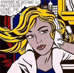 Roy Lichtenstein, M-Maybe, 1965