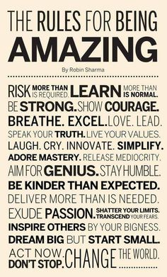 Amazing quote...yes to all of these and more