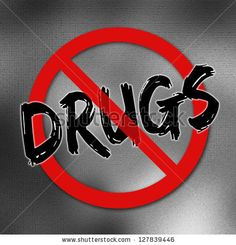 Say no to drugs sign by Lurin, via Shutterstock