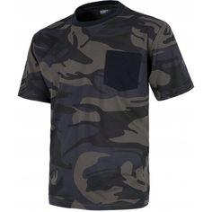 Camiseta de manga corta. Referencia  S8520 Marca:  WorkTeam  Camiseta de manga corta. Cuello redondo. Un bolsillo en pecho. Camuflaje.