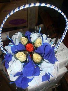 Flower Pastillas by SweetBlooms Pasta, Hanukkah, Wreaths, Children, Creative, Flowers, Food, Home Decor, Pills