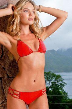 this Sauvage Swimwear Poppy Bikini is an attention-getter. Going to the beach is… Sauvage Swimwear, Bikini Swimwear, Bikini Luxe, Hot Bikini, Cute Swimsuits, Women Swimsuits, Beach Swimsuits, Two Piece Bikini, String Bikinis